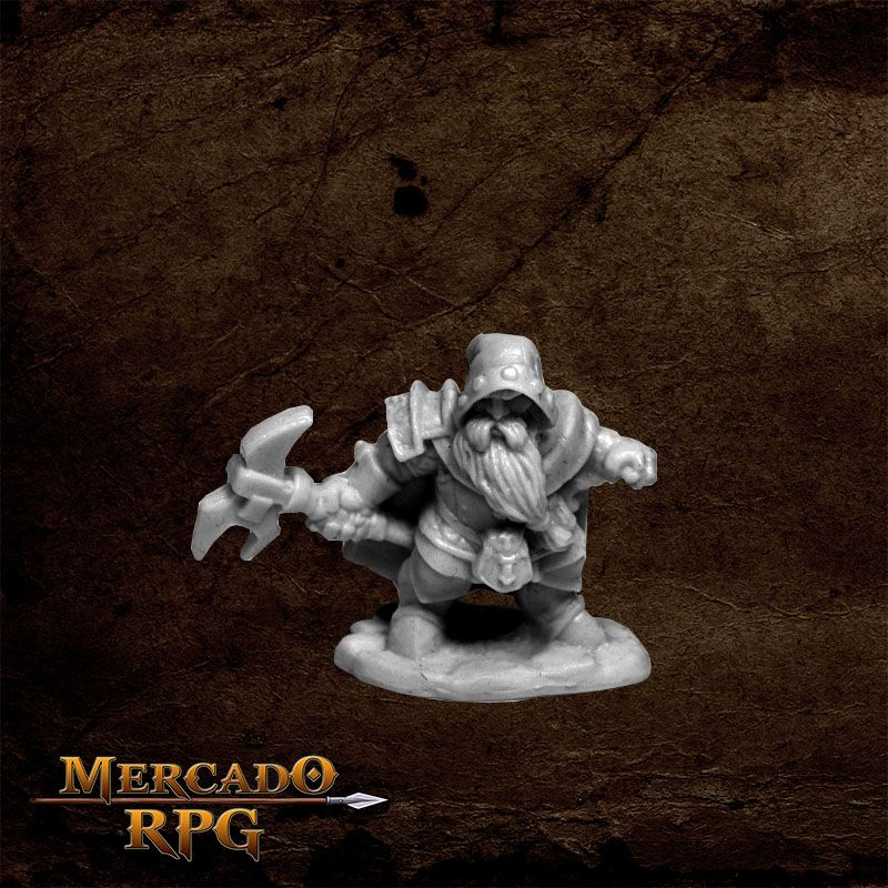 Durok, Dwarf Ranger  - Mercado RPG