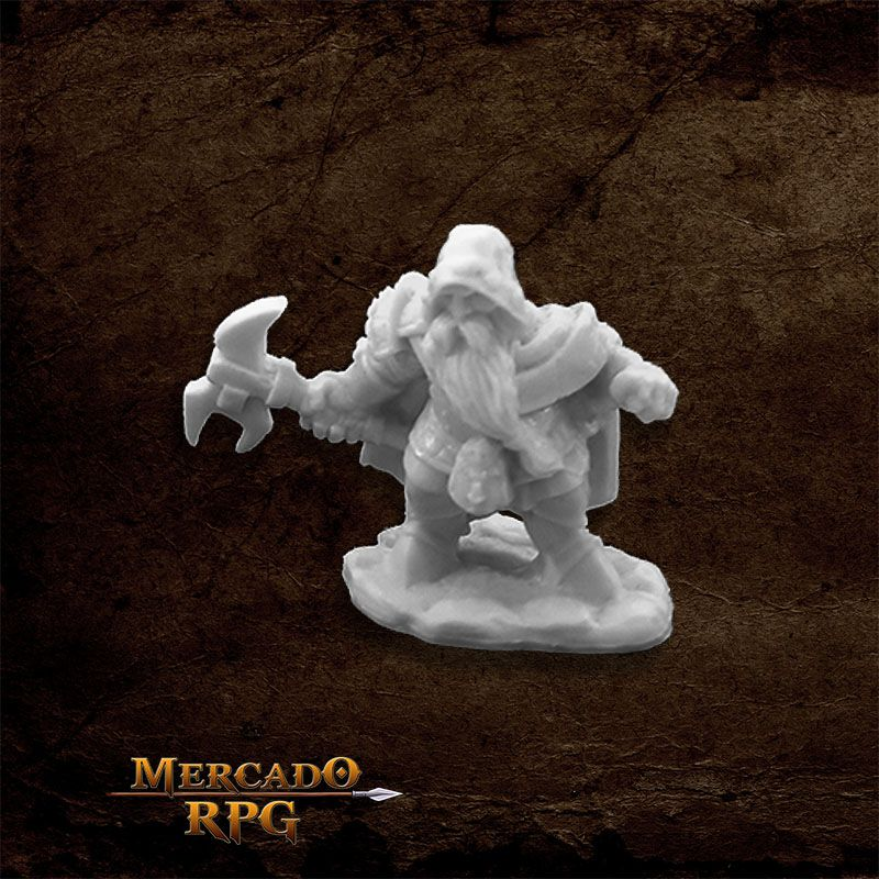 Durok, Dwarf Ranger - Miniatura RPG