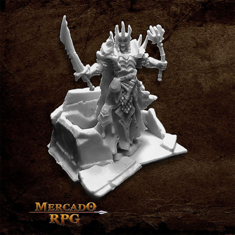 Dust King and Crypt - Miniatura RPG