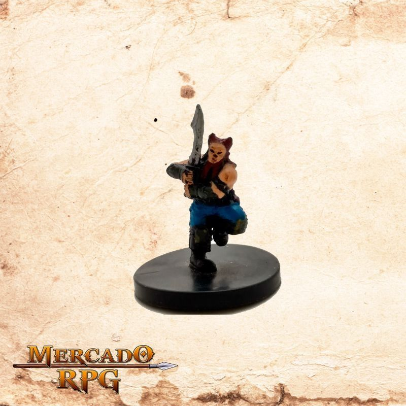 Dwarf Barbarian - Sem carta  - Mercado RPG