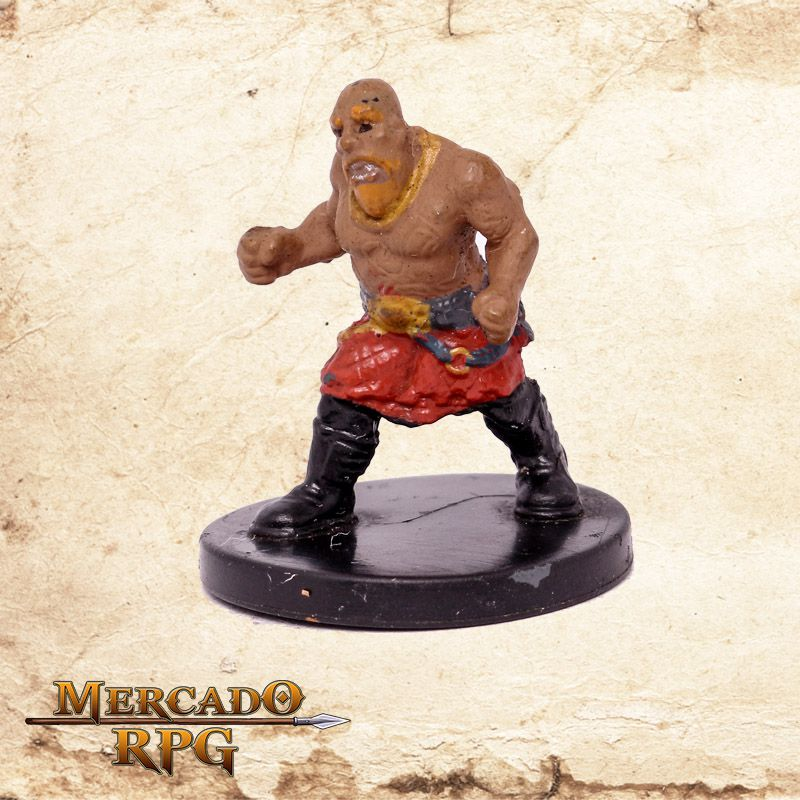 Dwarf Brawler - Miniatura RPG