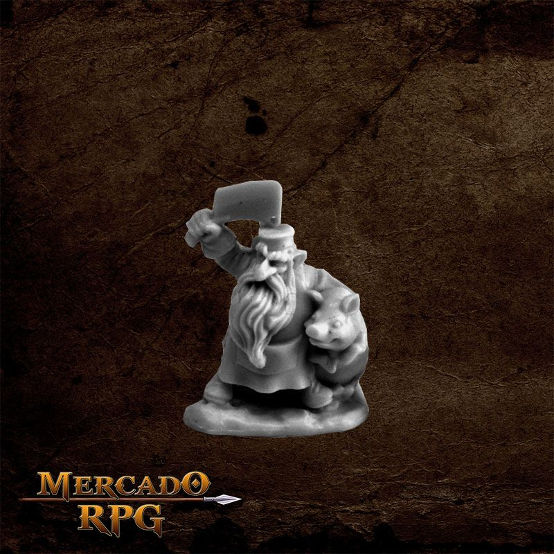 Dwarf Butcher  - Mercado RPG