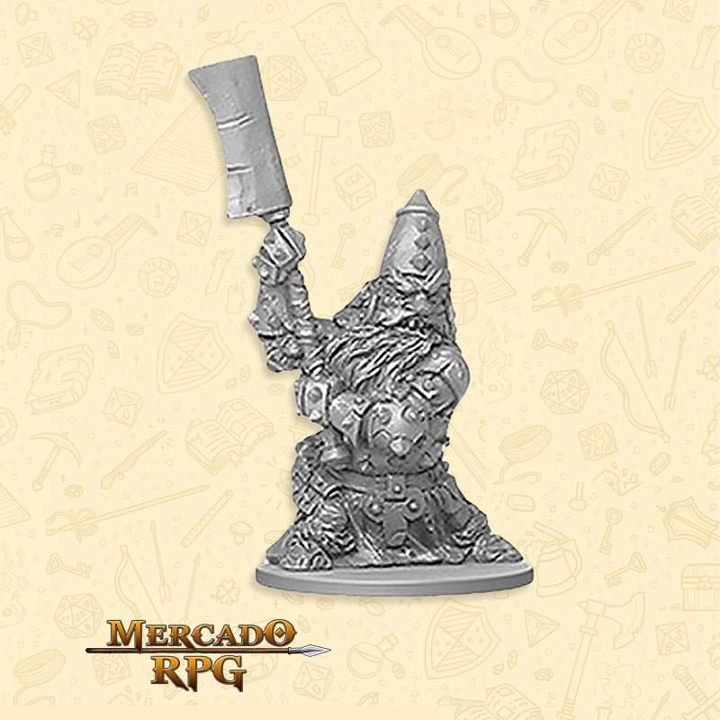 Dwarf Defender Minions - Massive Darkness - Miniatura RPG