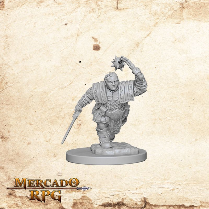 Dwarf Female Fighter B - Miniatura RPG