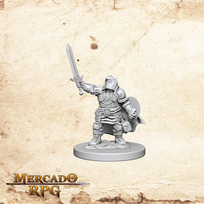 Dwarf Female Paladin A  - Mercado RPG