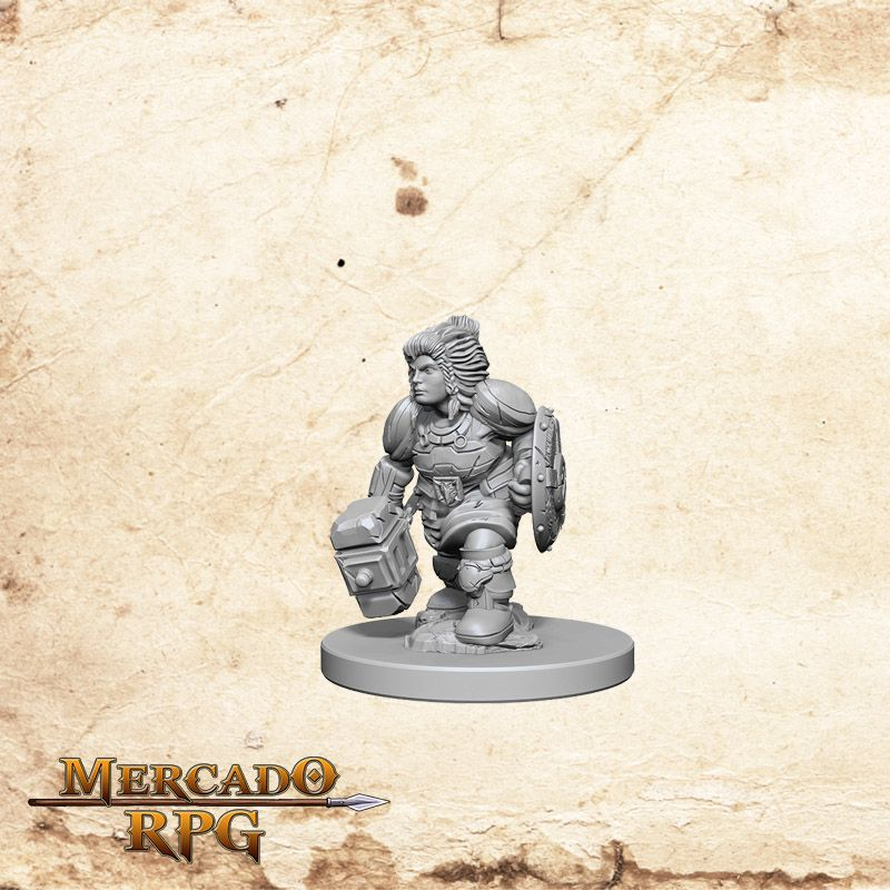 Dwarf Female Paladin B  - Mercado RPG