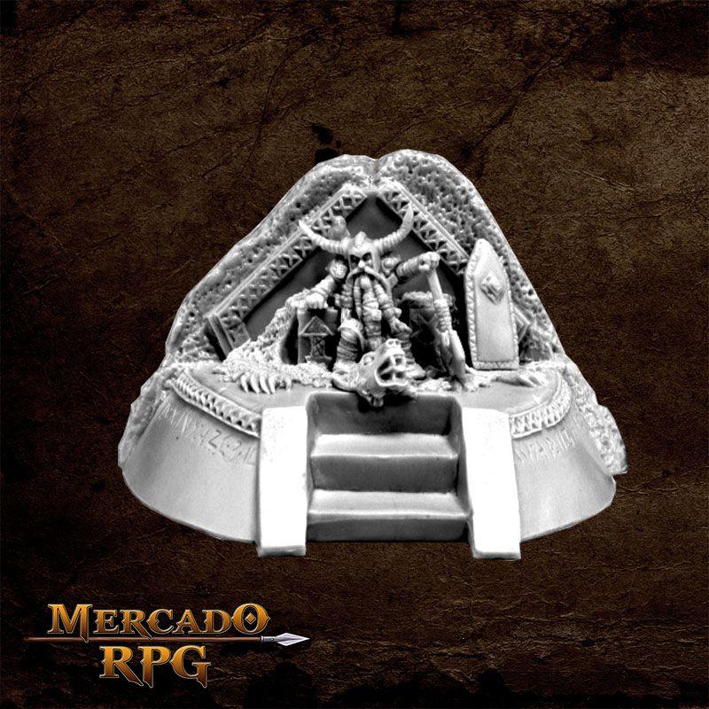 Dwarf King on Throne  - Mercado RPG