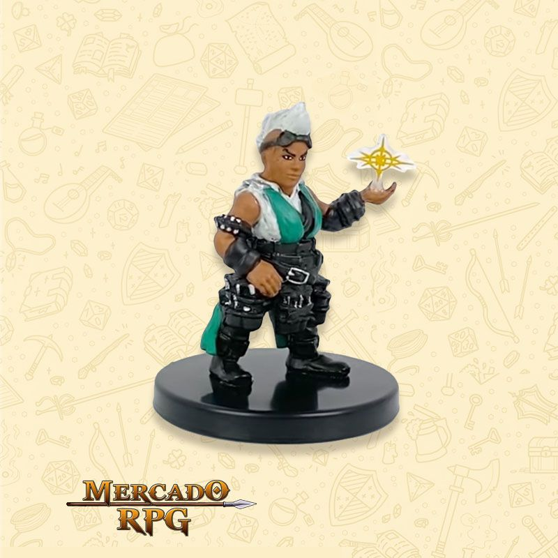 Dwarf Magewright - Miniatura RPG D&D Icons of the Realms