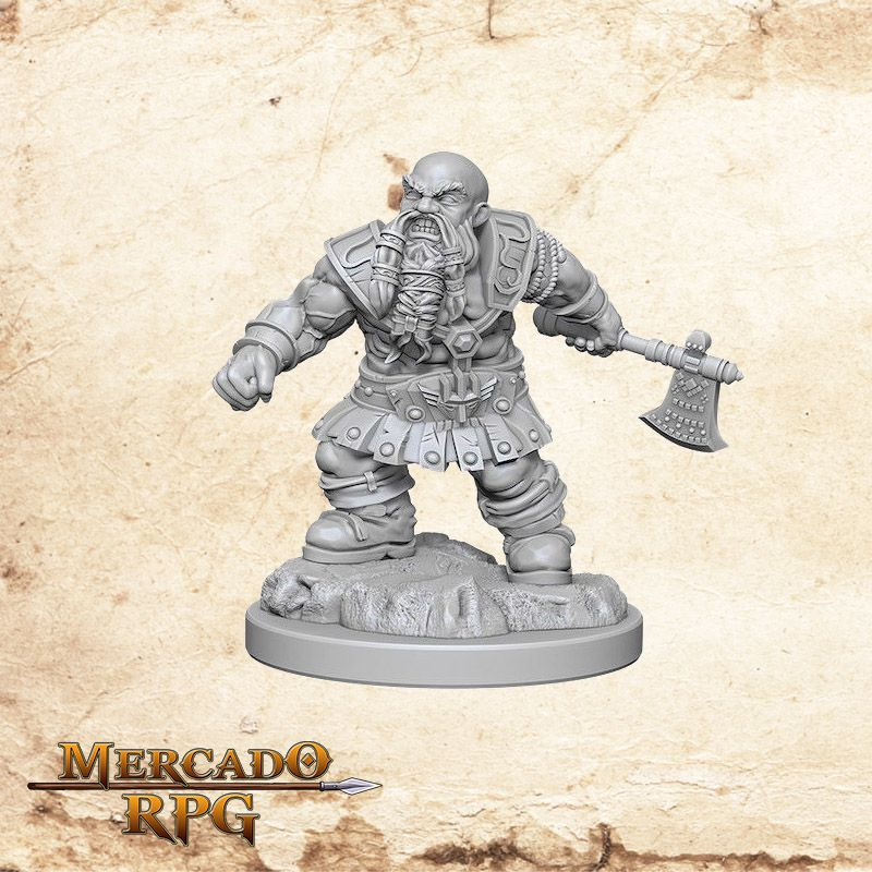 Dwarf Male Barbarian C  - Mercado RPG
