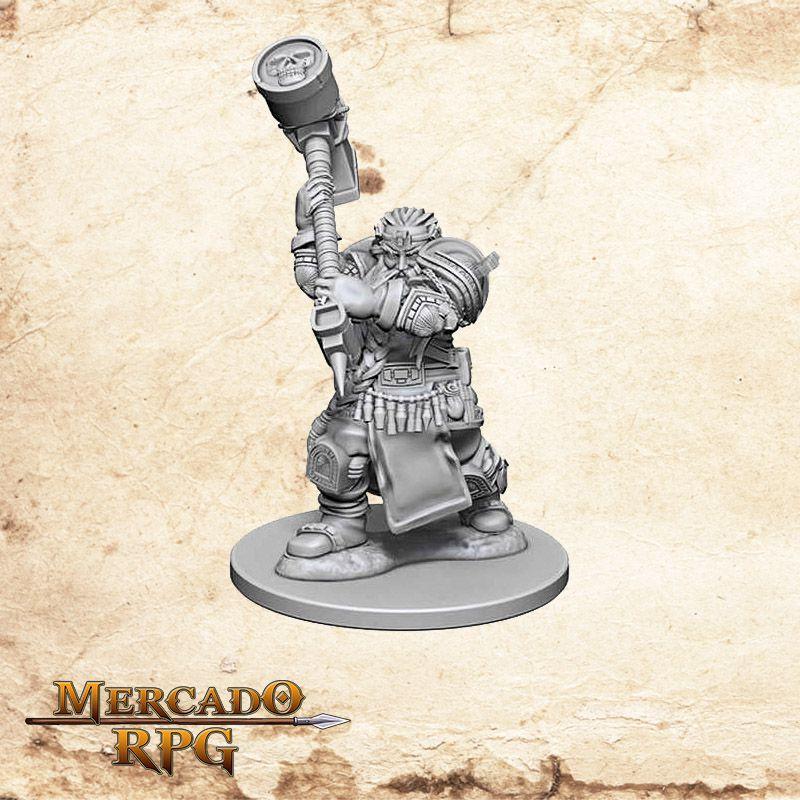 Dwarf Male Cleric A