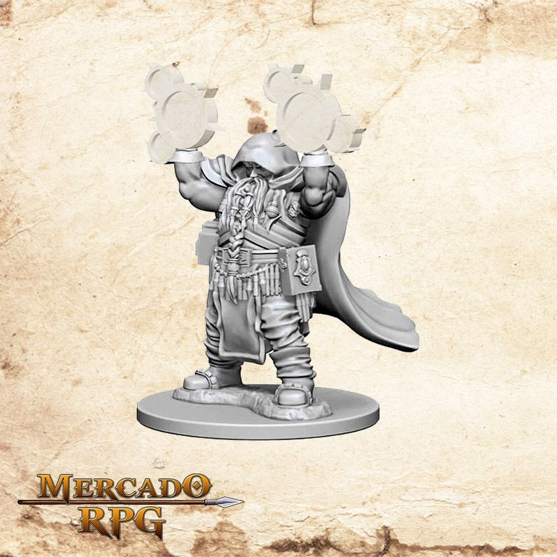 Dwarf Male Cleric B  - Mercado RPG