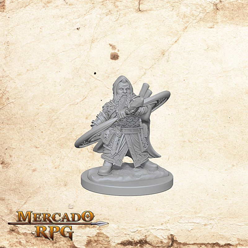 Dwarf Male Sorcerer A  - Mercado RPG