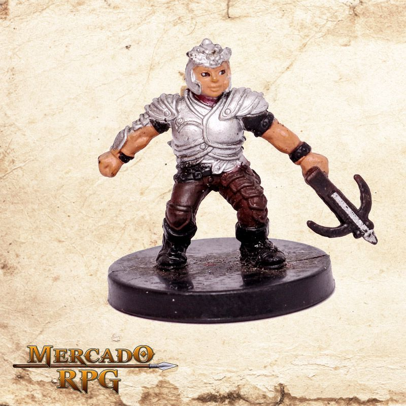 Dwarf Raider - Miniatura RPG