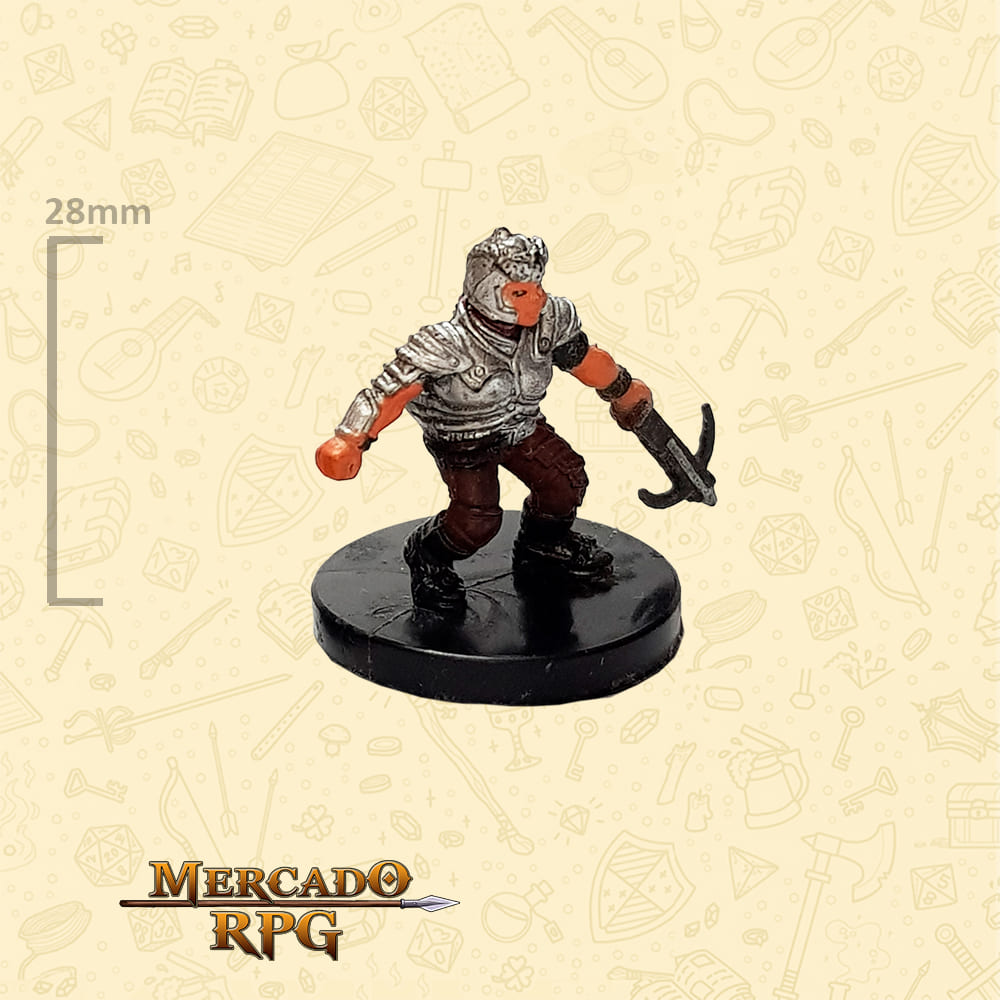 Dwarf Raider - Miniatura D&D - RPG