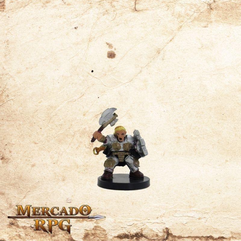 Dwarf Sergeant - Sem carta  - Mercado RPG