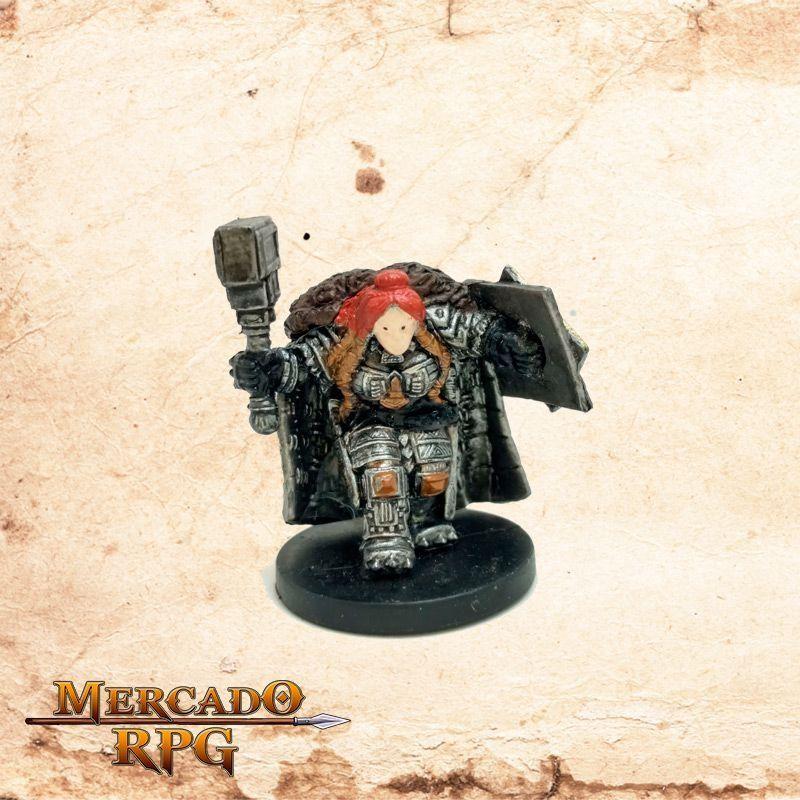 Dwarf Shieldmaiden - Sem carta  - Mercado RPG