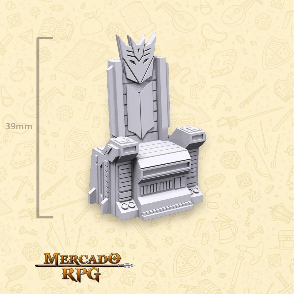Dwarf Throne - Miniatura - RPG