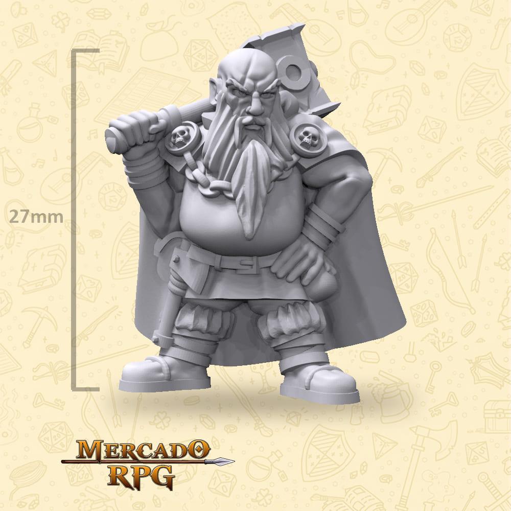 Dwarf Warhammer Bandit - Miniatura - RPG