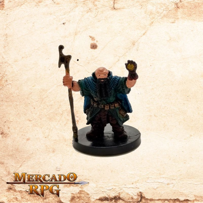 Dwarf Wizard - Sem carta  - Mercado RPG