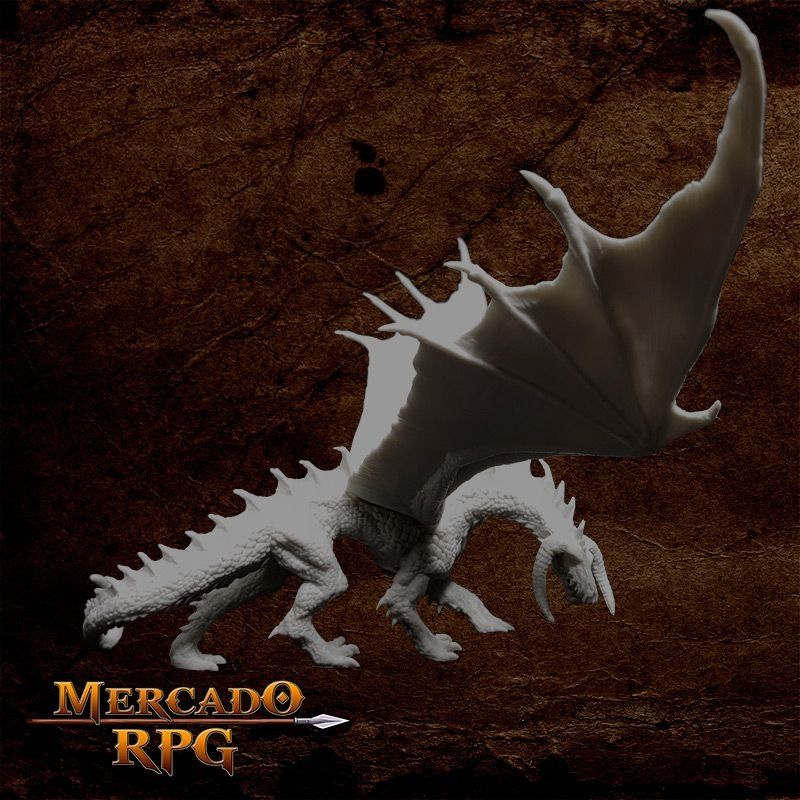 Ebonwrath Dragon  - Mercado RPG