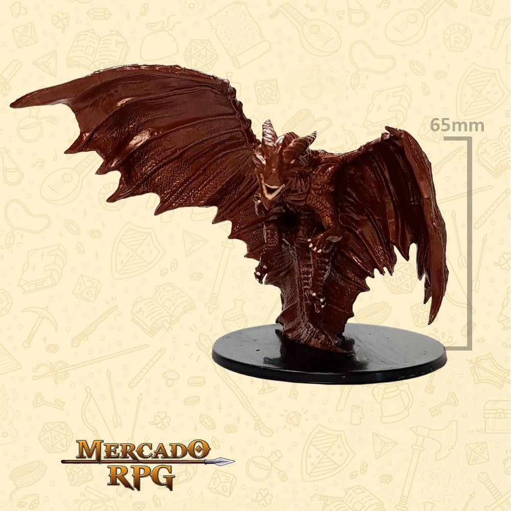 Elder  Copper Dragon - Miniatura D&D - RPG