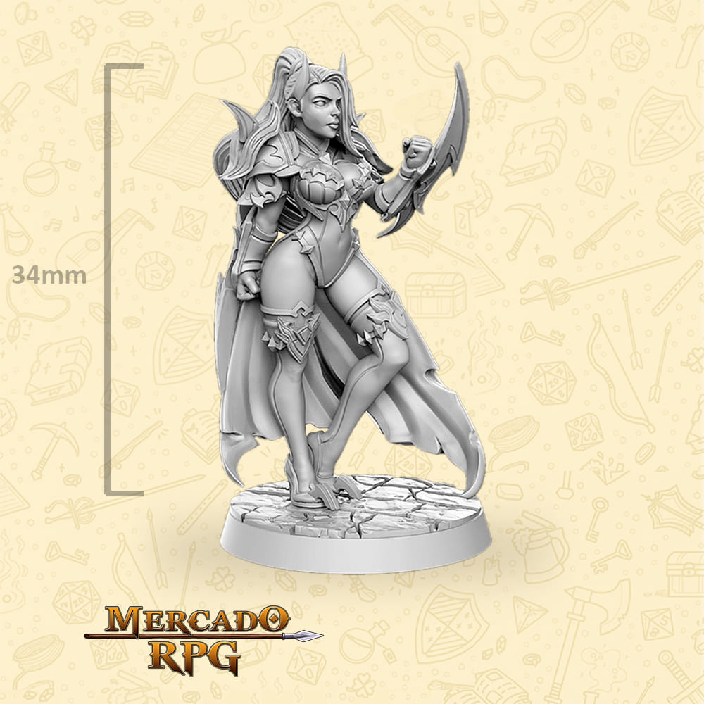 Elena - Miniatura - RPG
