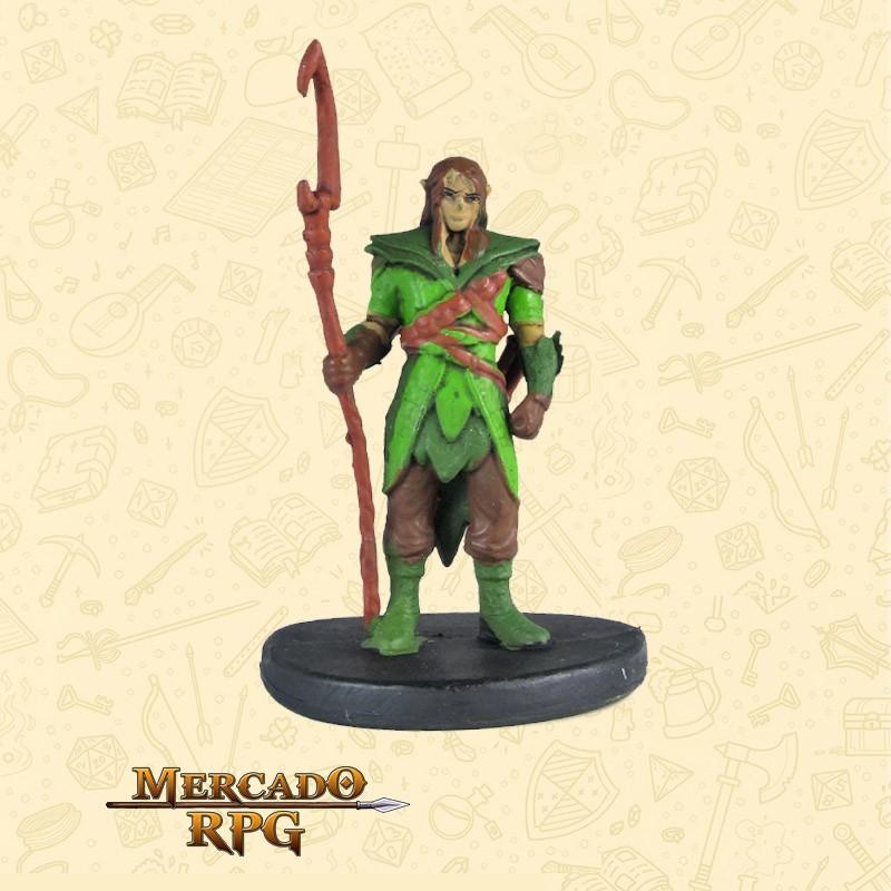 Elf Druid - Starter Set - Miniatura D&D - RPG