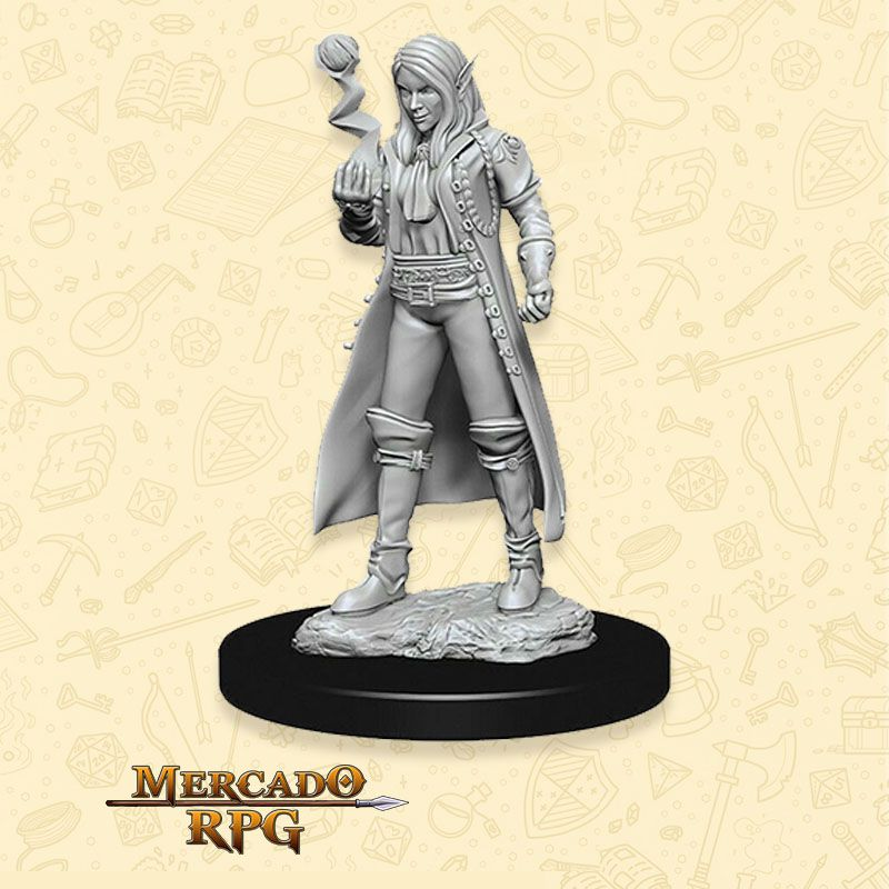 Elf Female Cleric B - Miniatura RPG