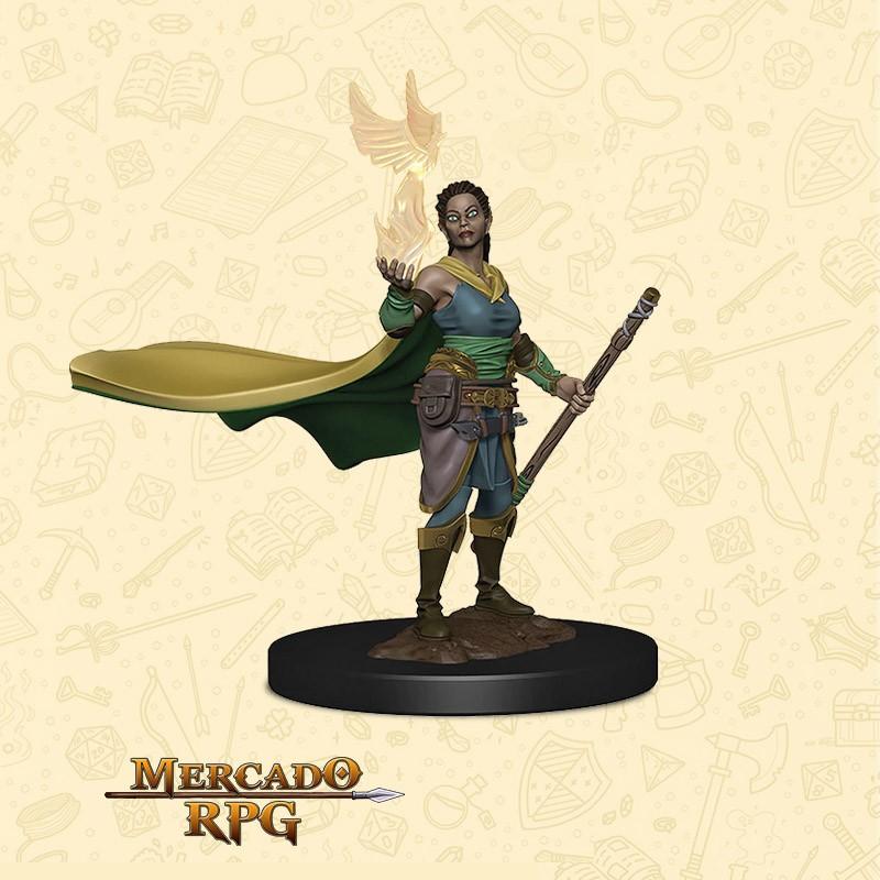 Elf Female Druid  - Miniatura D&D - RPG