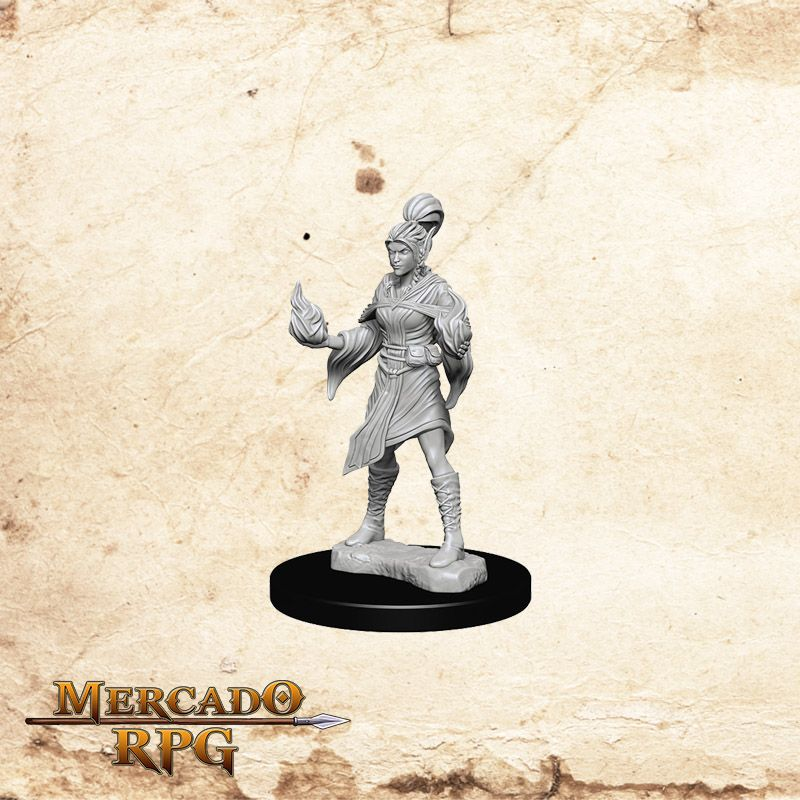 Elf Female Sorcerer B - Miniatura RPG