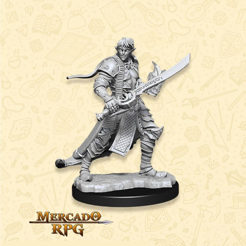 Elf Male Magus B - Miniatura RPG  - Mercado RPG