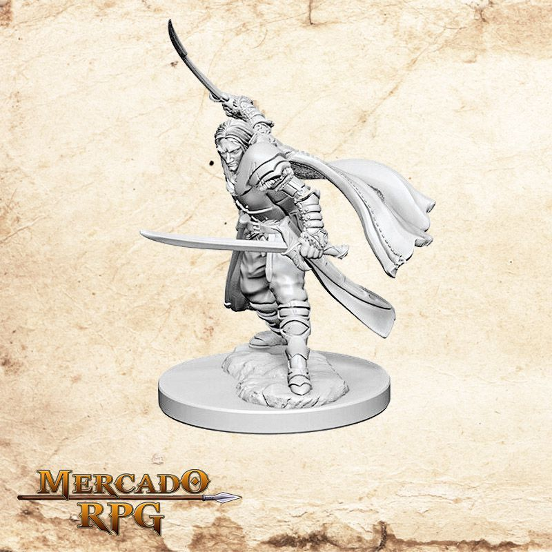 Elf Male Ranger A - Miniatura RPG  - Mercado RPG