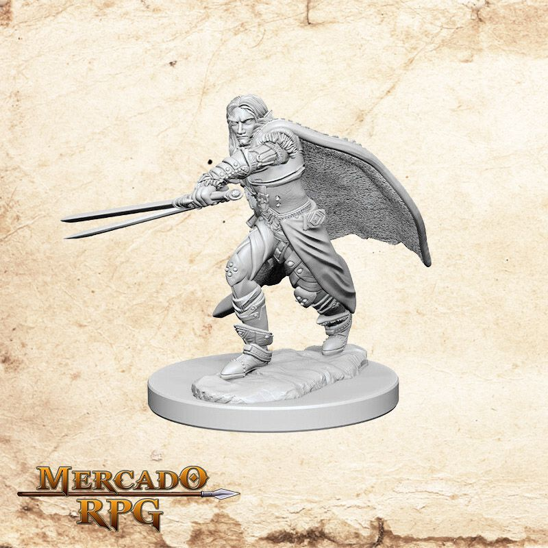 Elf Male Ranger B - Miniatura RPG  - Mercado RPG