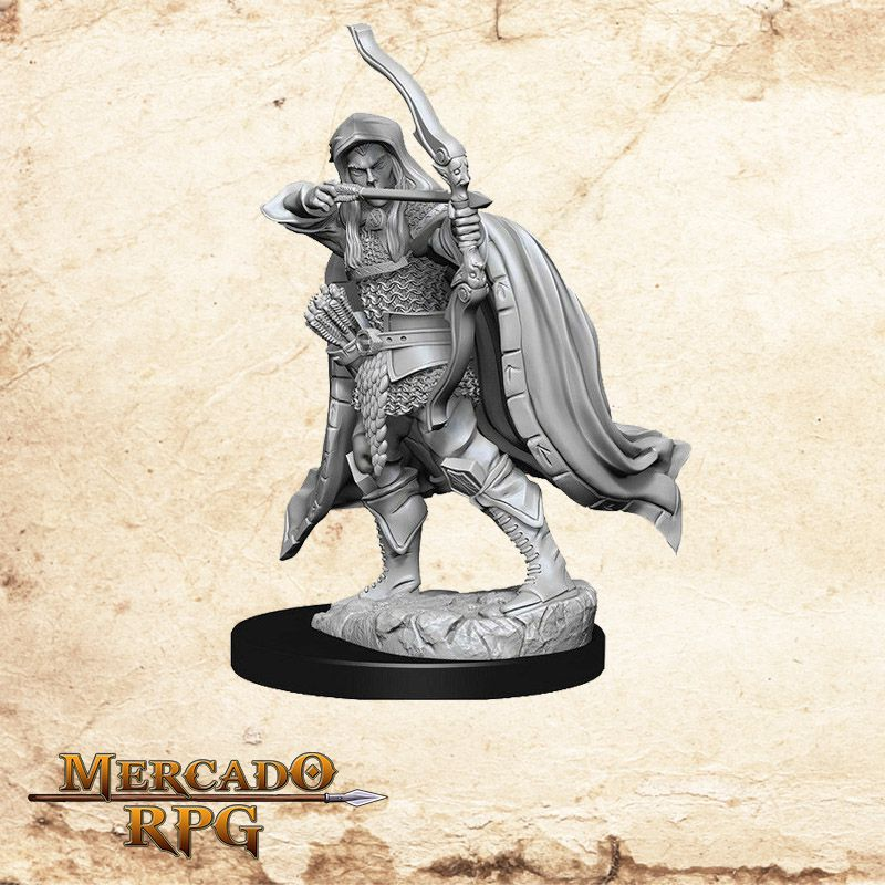 Elf Male Rogue A - Miniatura RPG  - Mercado RPG
