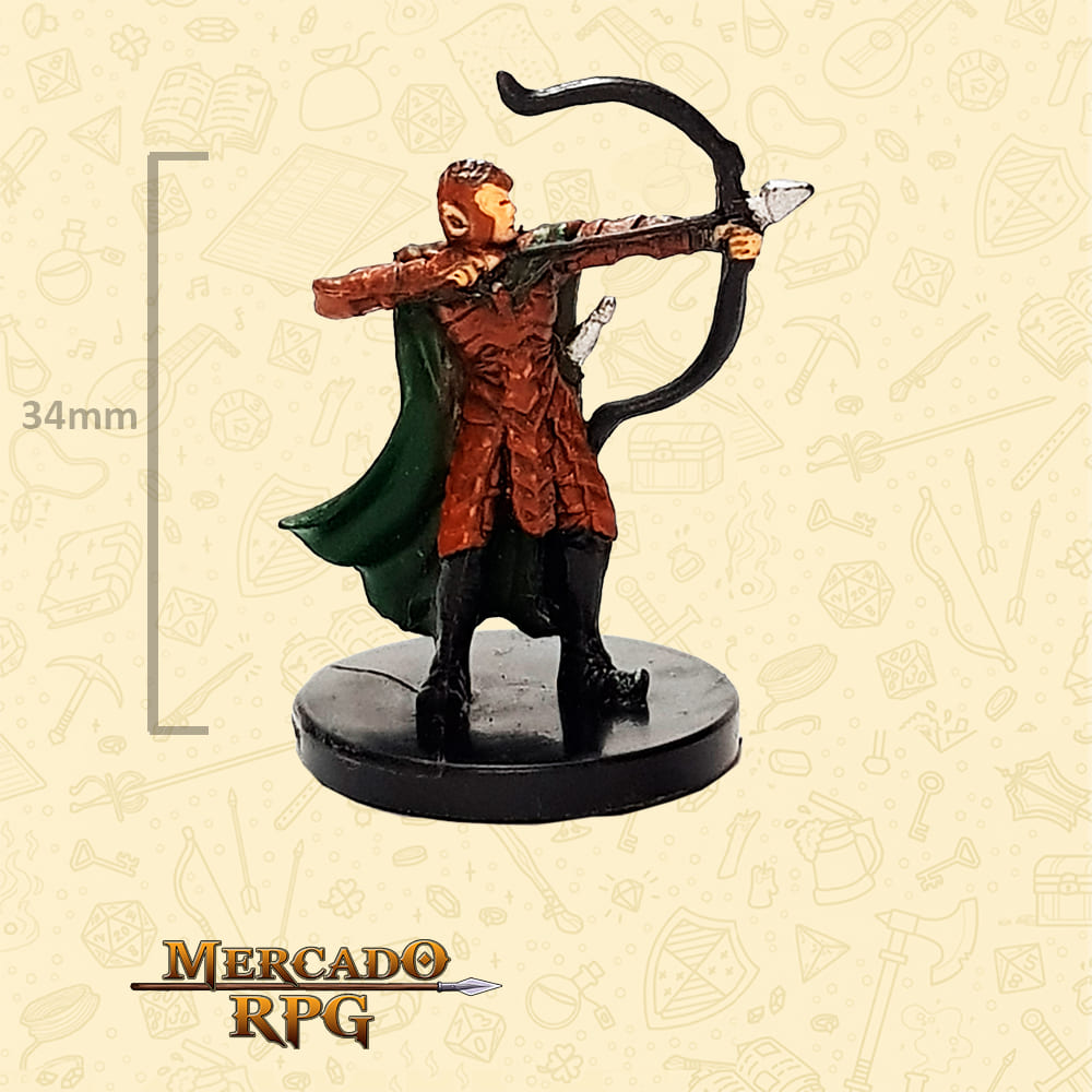 Elf Warrior - Miniatura D&D - RPG