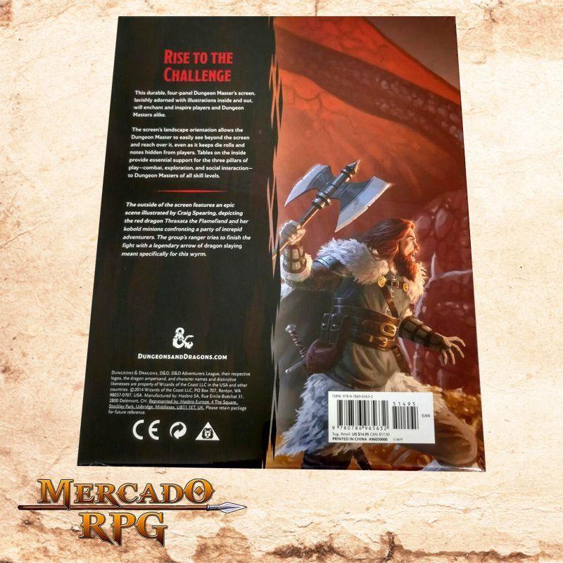 Escudo do mestre D&D 5º Edição  - Mercado RPG