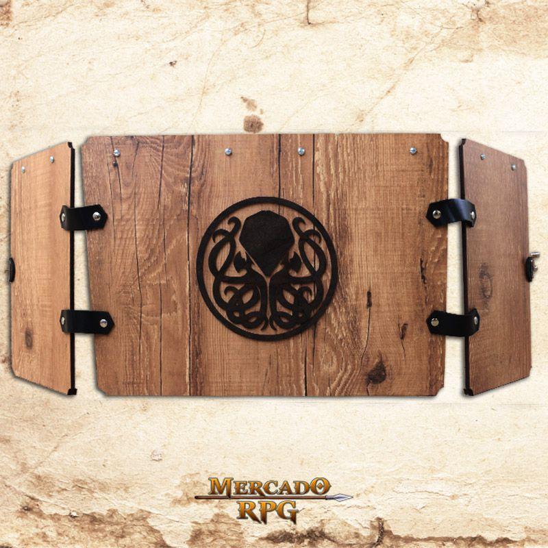 PRÉ-VENDA- Escudo do Mestre Premium - Cthulhu  - RPG