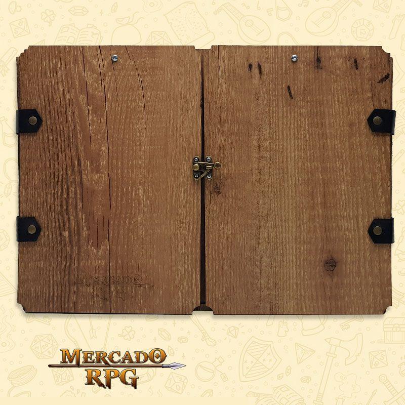 Escudo do Mestre Premium - D20 - RPG  - Mercado RPG