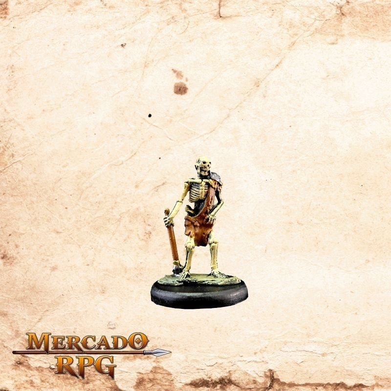 Esqueleto Maça Estrela  - Mercado RPG