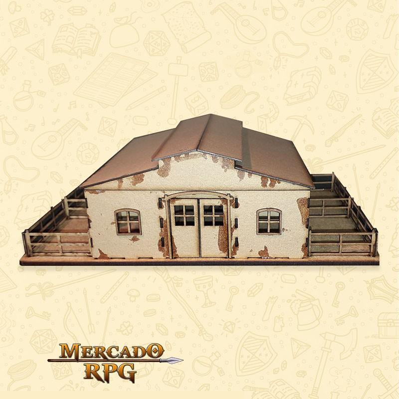 Estábulo - Cenários MDF - RPG  - Mercado RPG