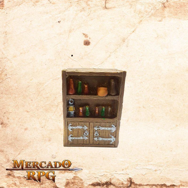 Estante de Bebidas  - Mercado RPG