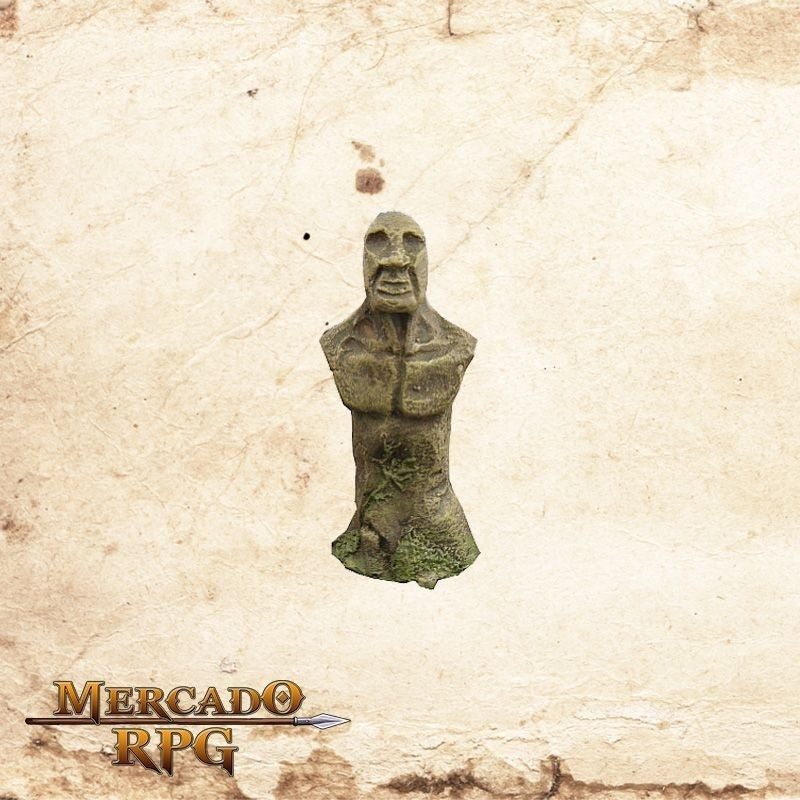 Estatua Humano  - Mercado RPG