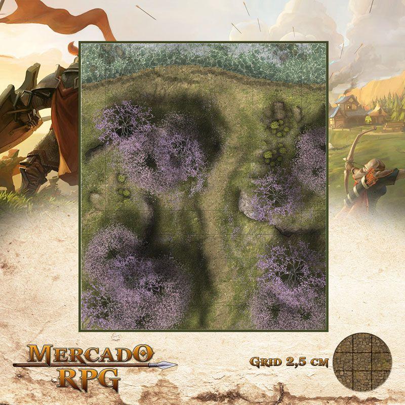 Estrada da Primavera 25x30 - RPG Battle Grid D&D