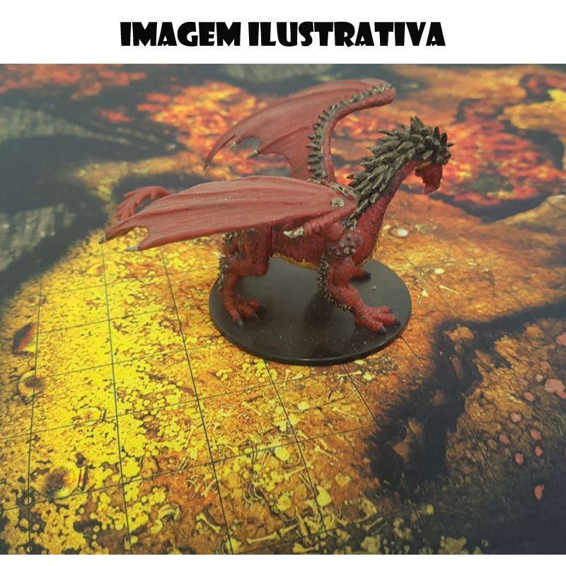 Estrada na Floresta Noturna D 50x50 - RPG Battle Grid D&D  - Mercado RPG
