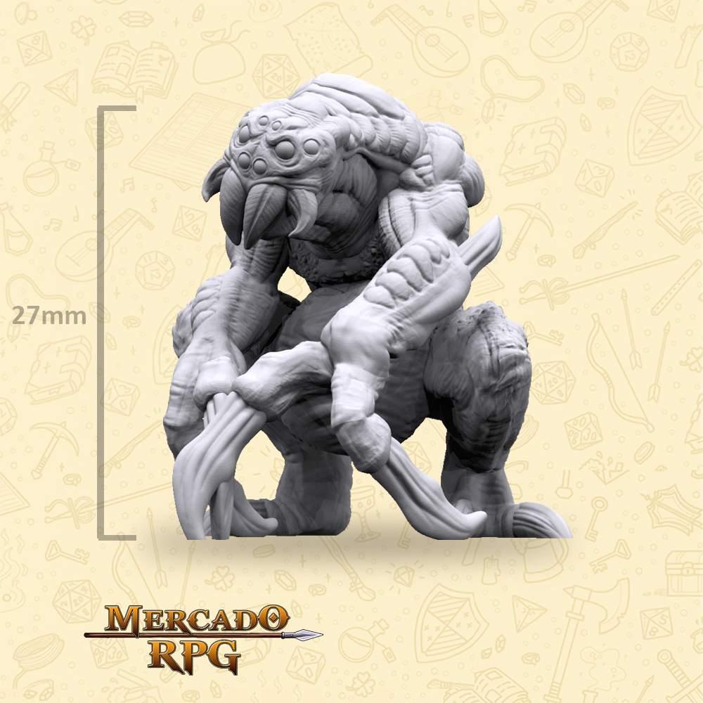 Ettercap Crouched - Miniatura - RPG