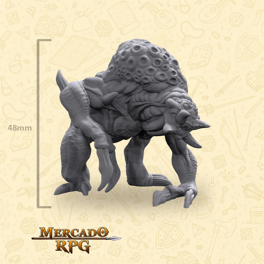Ettercap Matriarch - Miniatura - RPG
