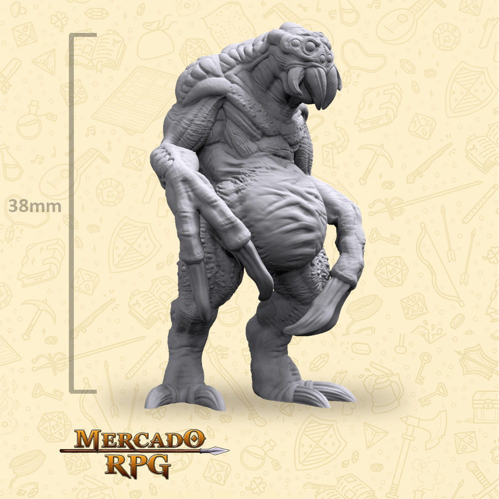 Ettercap - Miniatura - RPG