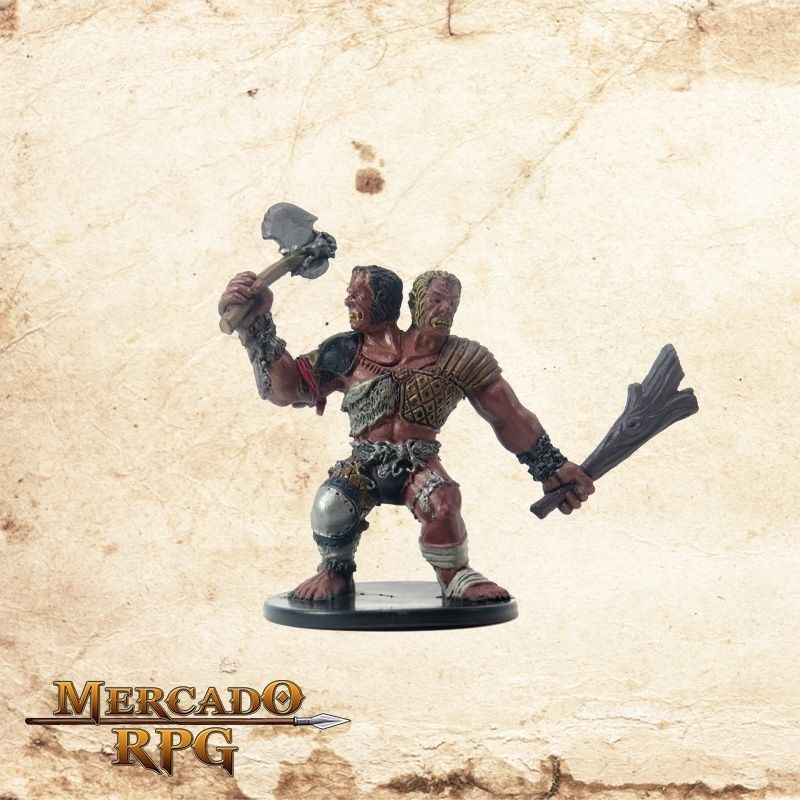Ettin Jack of Irons - Com carta  - Mercado RPG