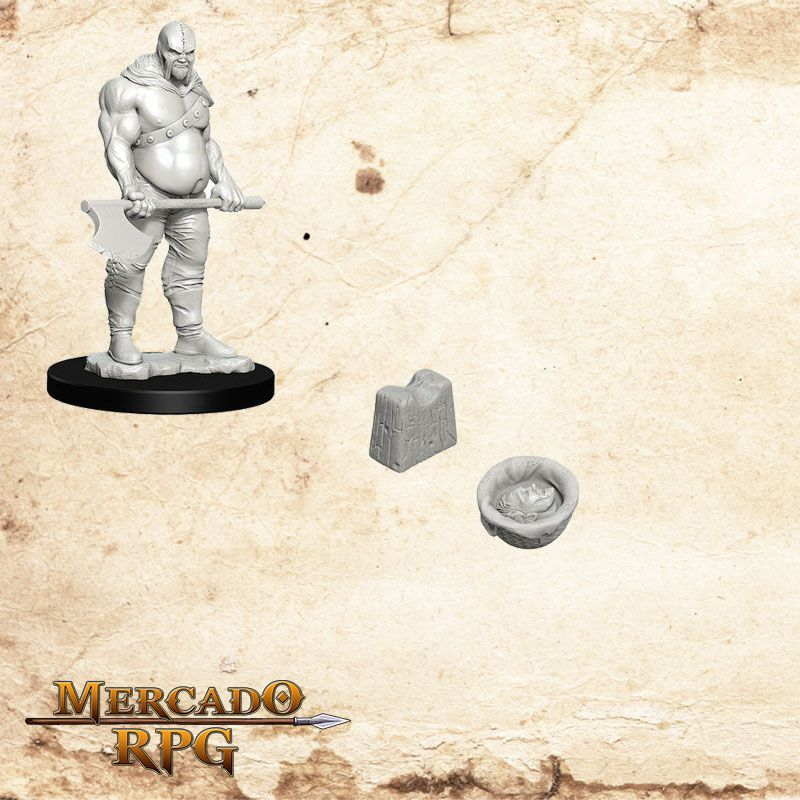 Executioner e Chopping Block - Miniatura RPG  - Mercado RPG