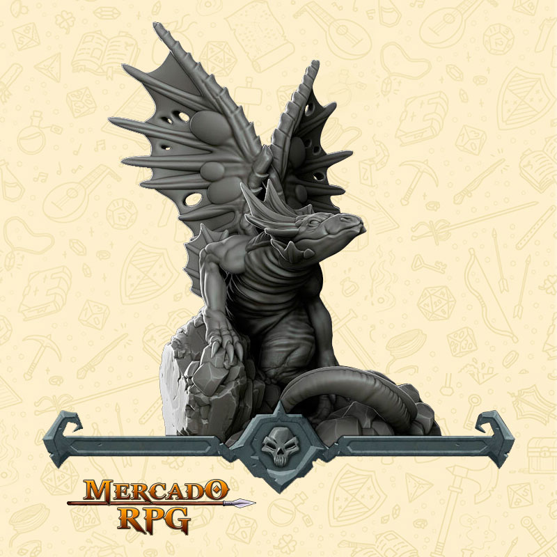 Fairy Dragon - Miniatura - RPG